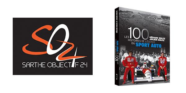 Team SO24 a offert Les 100 Histoires de Légende du Sport Auto lors des 24h du Mans 2017