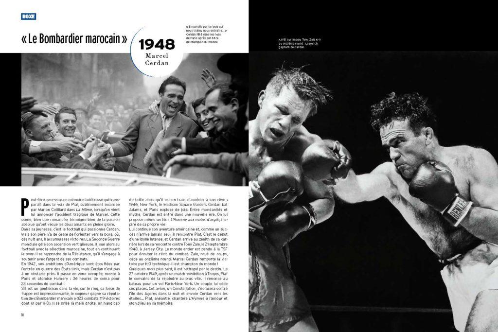 Marcel Cerdan héros romantique amoureux d'Edith Piaf et boxeur de classe mondiale