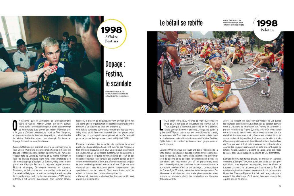 1998 Virenque et l'Affaire Festina, la gréve des coureur