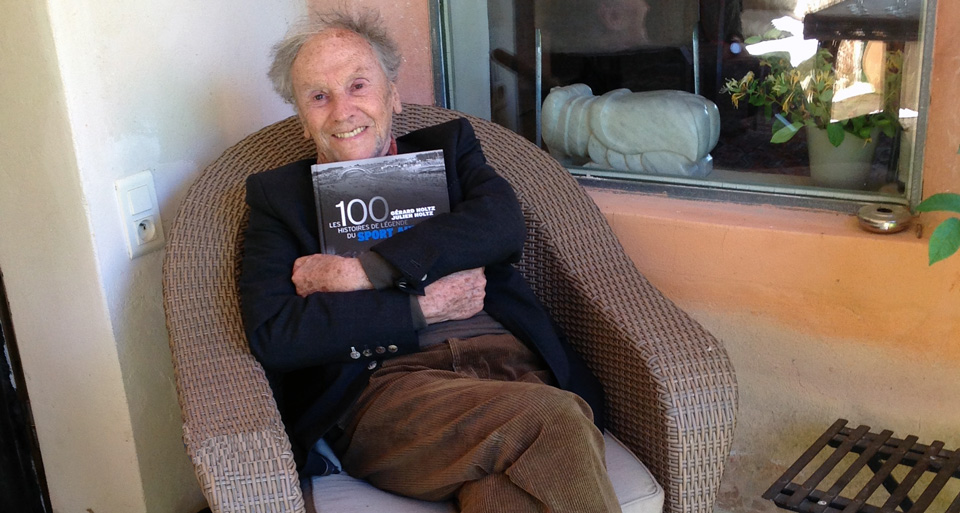 Jean-Louis Trintignant a aimé Les 100 Histoires de Légende du Sport Auto
