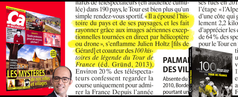 Julien Holtz témoigne dans Ça M'intéresse (Juillet 2018)