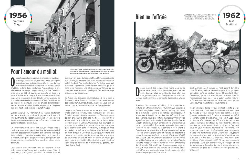 extrait des 100 Histoires de légende du Vélo