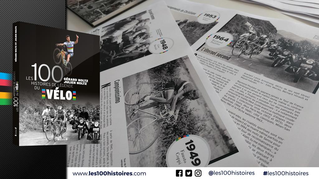Portraits et destins de Fausto Coppi, Gino Bartali, Louison Bobet, Jacques Anquetil, Raymond Poulidor
