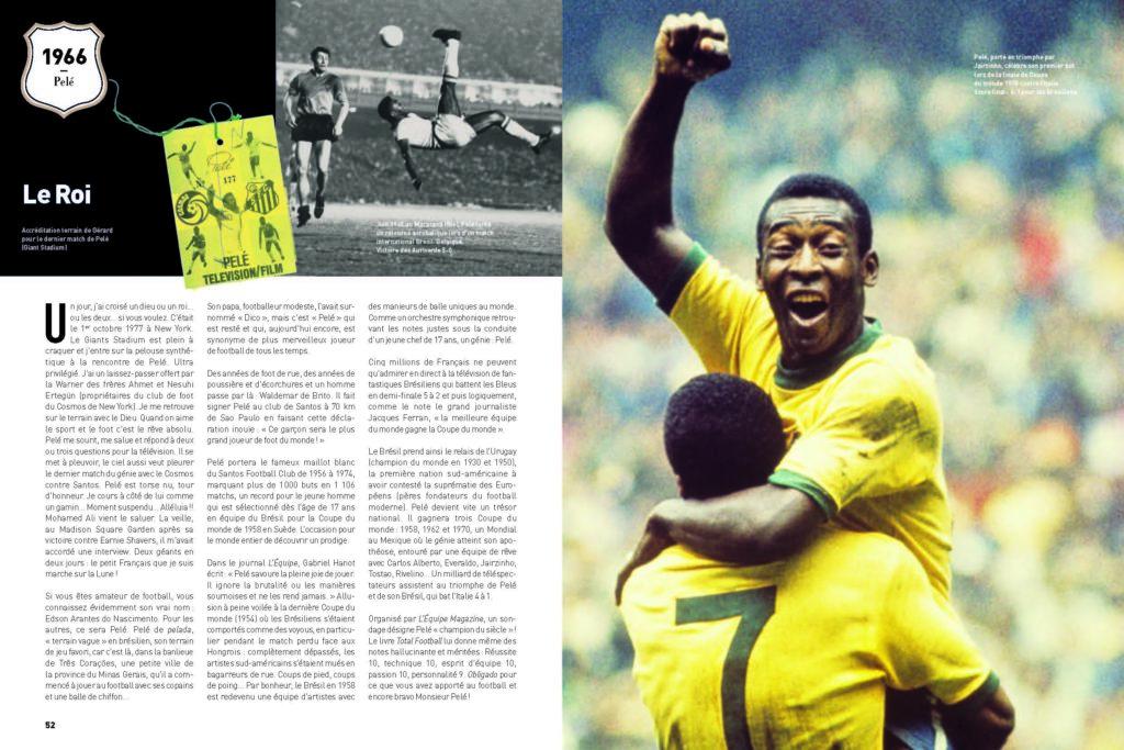 Joueur de légende : le roi Pelé